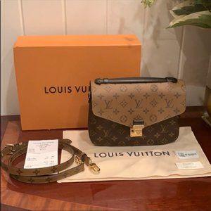 LV Pochette Metis Reverse Monogram Bag